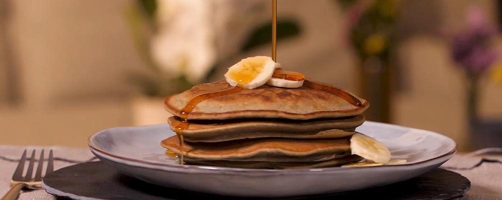 Pancakes minute à la banane - ©Du bruit dans la cuisine